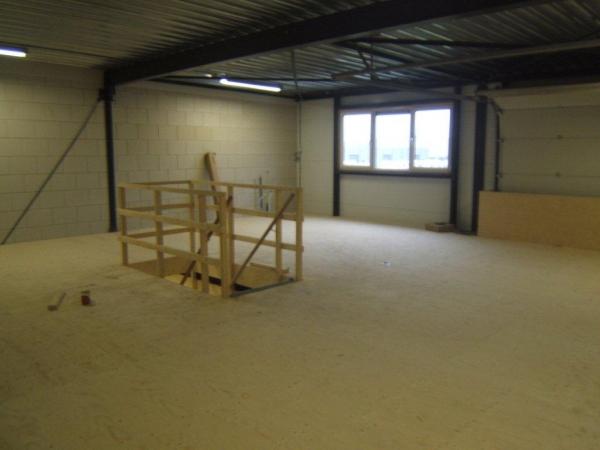 Nieuwbouw werkplaats Martens